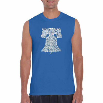 Los Angeles Pop Art Liberty Bell Tank Top