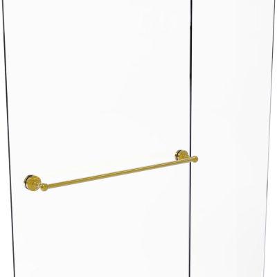 Allied Brass Dottingham Collection 30 IN Shower Door Towel Bar