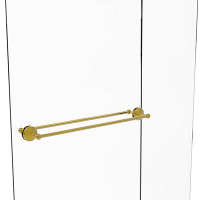 Allied Brass Monte Carlo Collection 30 IN Back ToBack Shower Door Towel Bar