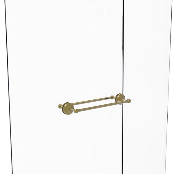 Allied Brass Monte Carlo Collection 18 IN Back ToBack Shower Door Towel Bar