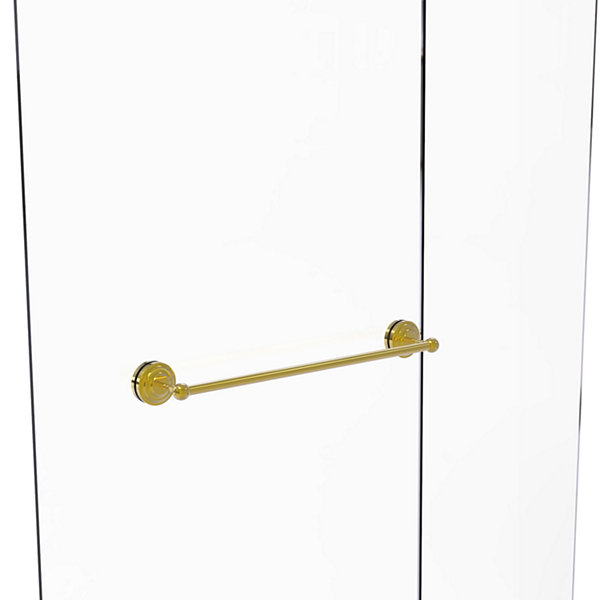 Allied Brass Que New Collection 24 IN Shower DoorTowel Bar
