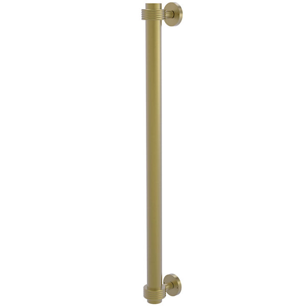 Allied Brass Prestige Que New Collection 18 Inch Towel Bar With Integrated Hooks
