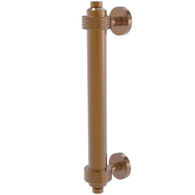Allied Brass 8 IN Door Pull With Groovy Accents