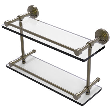 Allied Brass Prestige Regal Collection 30 Inch Towel Bar With Integrated Hooks
