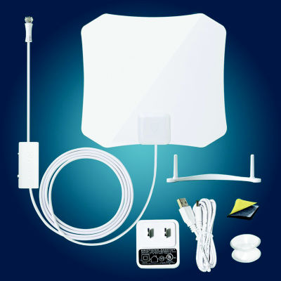 Antop AT-132B Paper Thin TV Antenna with Smart Pass Amplifier