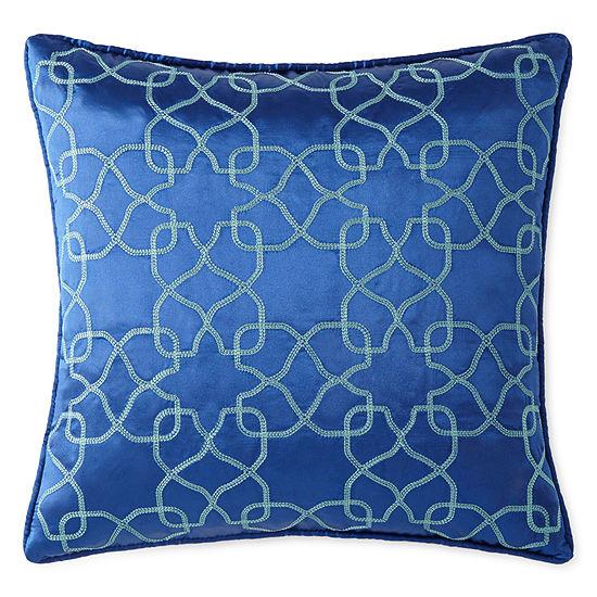 Eva Longoria Home Emilia Square Throw Pillow