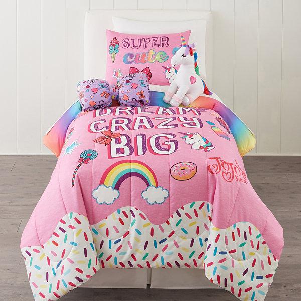 Jojo siwa twin full comforter jcpenney - Jcpenney childrens bedroom furniture ...