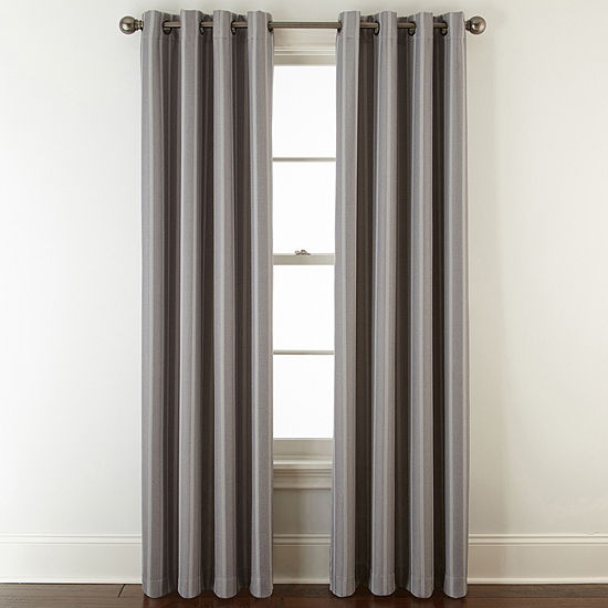Linden Street Elmsford Room Darkening Grommet-Top Curtain Panel