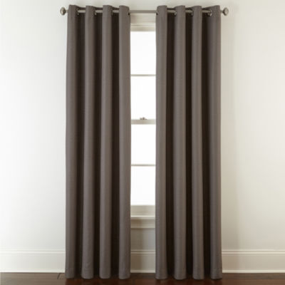 Apollo 100% Blackout Grommet-Top Curtain Panel
