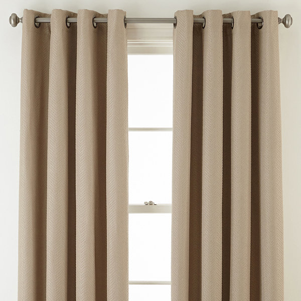 Apollo 100% Blackout Grommet-Top Curtain Panel