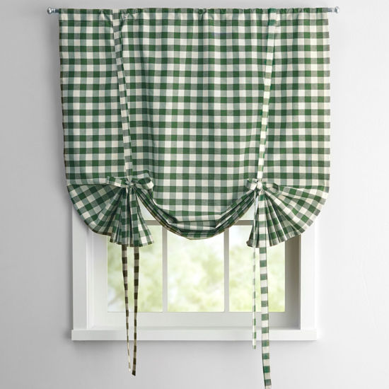 Buffalo Check Window Treatment Collection