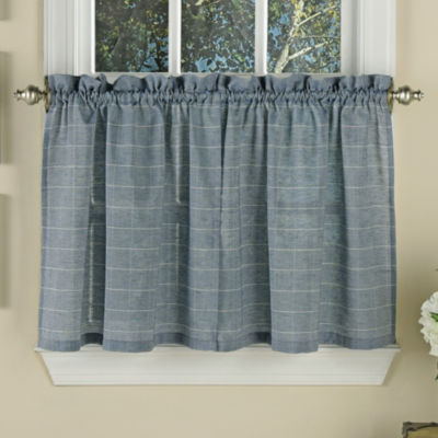 Supple Woven Window Pane Pattern Tiers