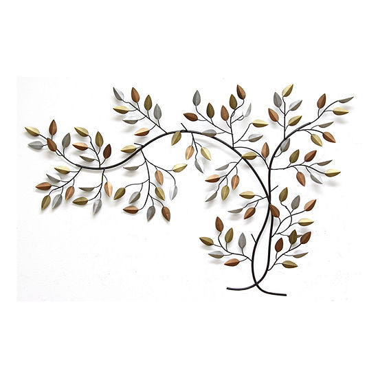 Stratton Home Decor Tree Branch Wall Décor Trees + Leaves Metal Wall Art
