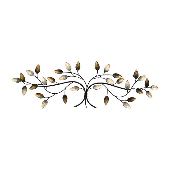Stratton Home Decor Over The Door Blowing Leaves Wall Décor Metal Wall Art