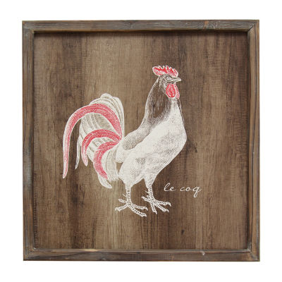 Rooster Wall Art Print