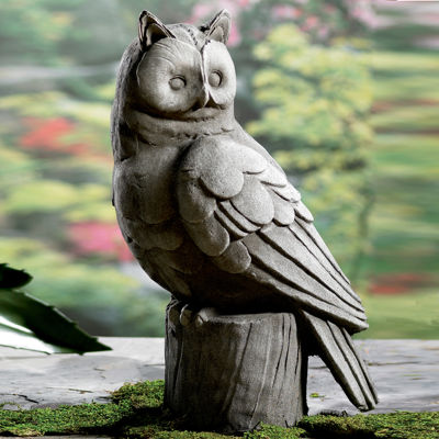 "St. Croix Trading 18"" Large Owl Garden Statue"""