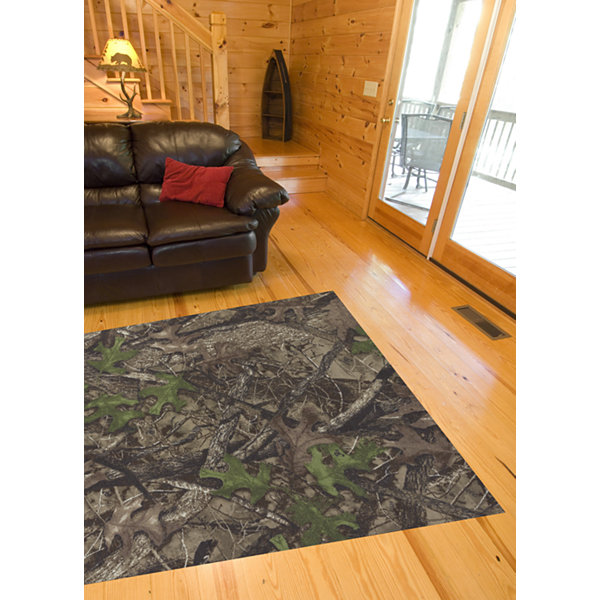 United Weavers True Timber Collection HTC Spring Rectangular Rug