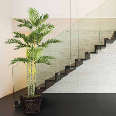 76 Inch Tall Palm Tree In Planter