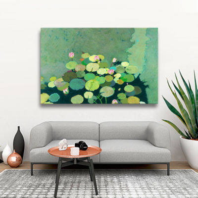 Brushstone Betty's Serenity Pond Gallery Wrapped Canvas Wall Art