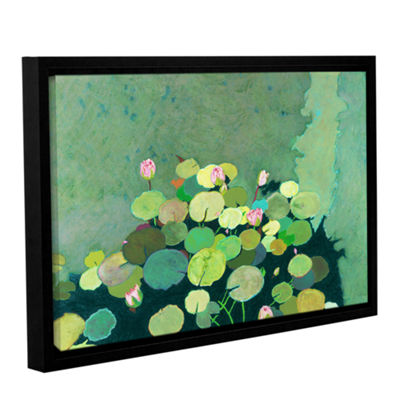 Brushstone Betty's Serenity Pond Gallery Wrapped Floater-Framed Canvas Wall Art