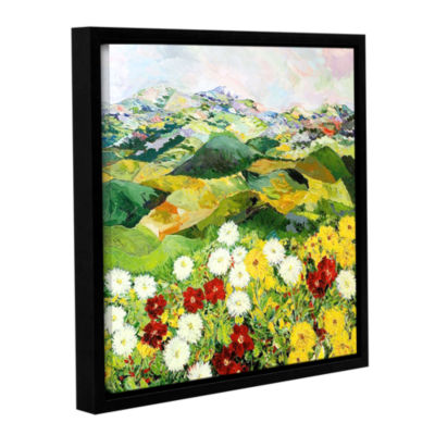 Brushstone Bewitching Twilight Gallery Wrapped Floater-Framed Canvas Wall Art
