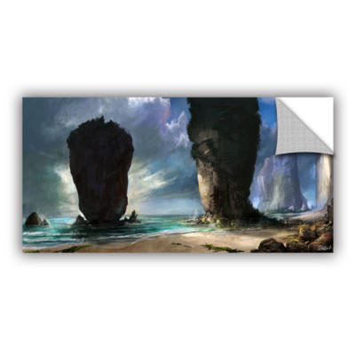 Brushstone Beach Front Removable Wall Decal