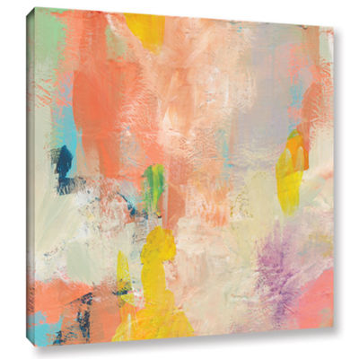 Brushstone Beyond the Line 1 Gallery Wrapped Canvas Wall Art