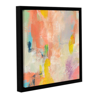 Brushstone Beyond the Line 1 Gallery Wrapped Floater-Framed Canvas Wall Art