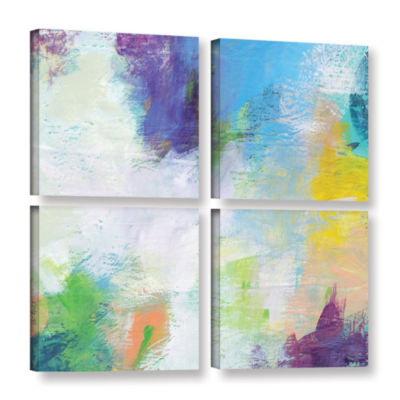 Brushstone Beyond the Line 2 4-pc. Square GalleryWrapped Canvas