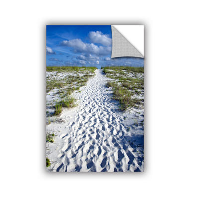 Brushstone Beach Path Removable Wall Decal