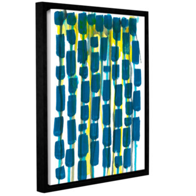 Brushstone Beaded Curtain Gallery Wrapped Floater-Framed Canvas Wall Art