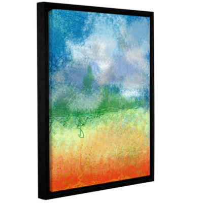 Brushstone Big Sky Calm Gallery Wrapped Floater-Framed Canvas Wall Art - Rocky Mountain