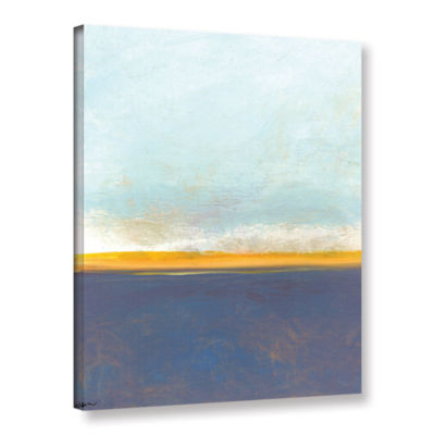 Brushstone Big Sky Country I Gallery Wrapped Canvas Wall Art - Rocky Mountain
