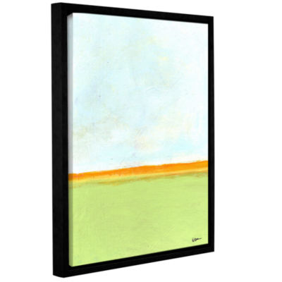 Brushstone Big Sky Country III Gallery Wrapped Floater-Framed Canvas Wall Art - Rocky Mountain