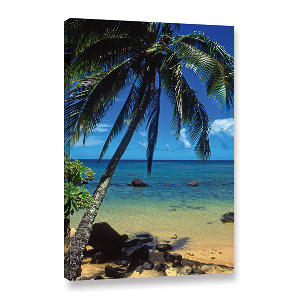 Brushstone Beautiful Anini Beach Gallery Wrapped Canvas Wall Art