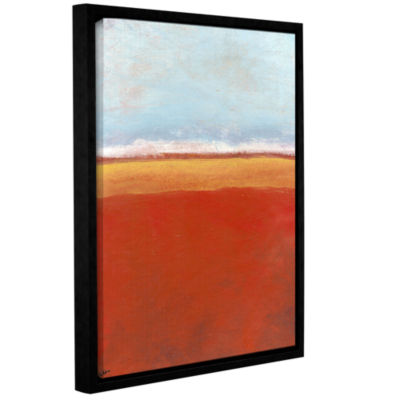 Brushstone Big Sky Country IV Gallery Wrapped Floater-Framed Canvas Wall Art