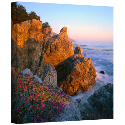 Brushstone Big Sur Sunset Gallery Wrapped Canvas Wall Art