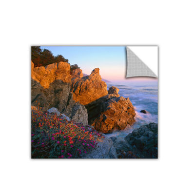 Brushstone Big Sur Sunset Removable Wall Decal