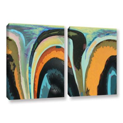 Brushstone Bigan 2-pc. Gallery Wrapped Canvas WallArt