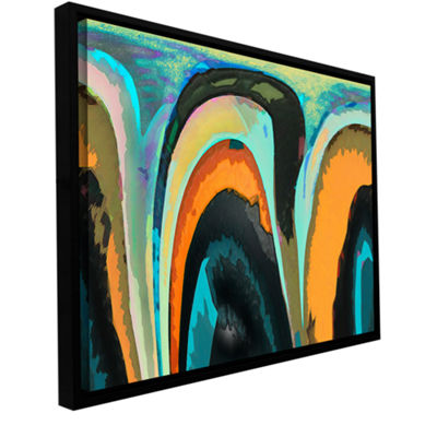 Brushstone Bigan Gallery Wrapped Floater-Framed Canvas Wall Art