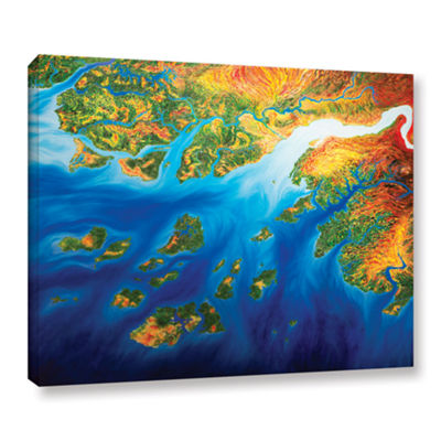Brushstone Bilagos Gallery Wrapped Canvas Wall Art