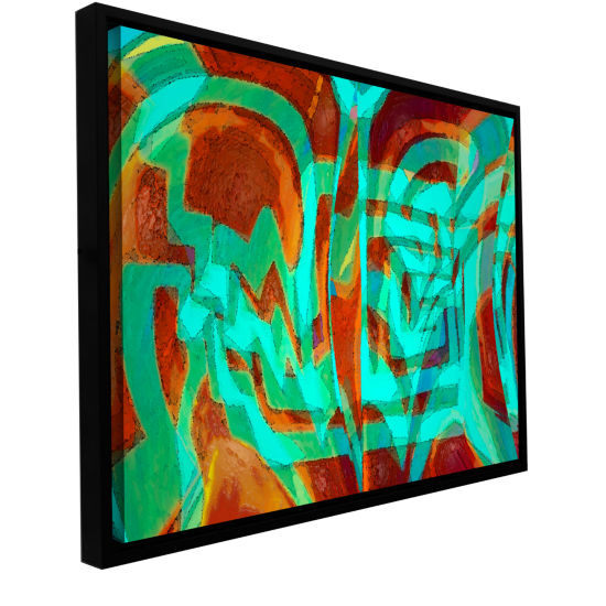 Brushstone Bilh Gallery Wrapped Floater-Framed Canvas Wall Art