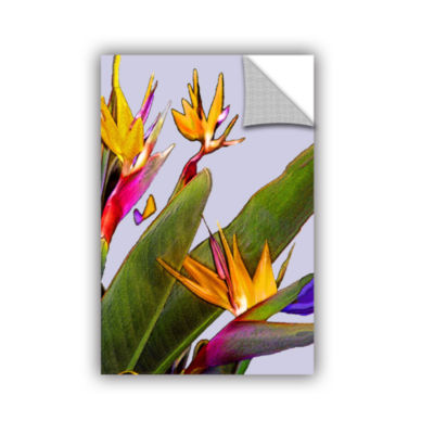 Brushstone Bird of Paradise Removable Wall Decal