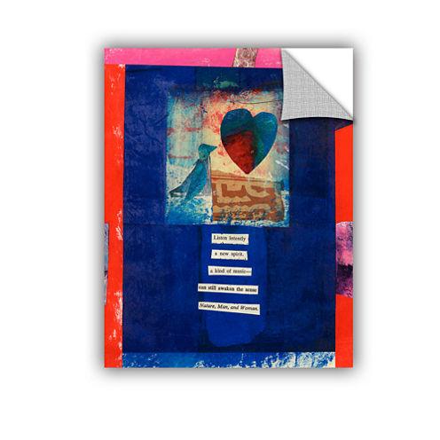 Brushstone Bird  Heart  Love Removable Wall Decal