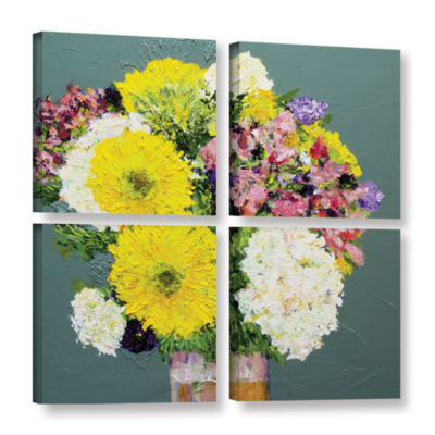 Brushstone Beautiful Day 4-pc. Square Gallery Wrapped Canvas