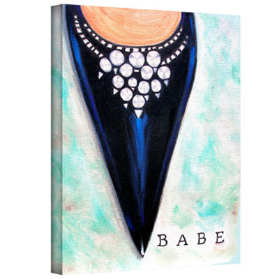 Brushstone Babe Gallery Wrapped Canvas Wall Art