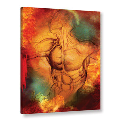 Brushstone Birthright IV Gallery Wrapped Canvas Wall Art