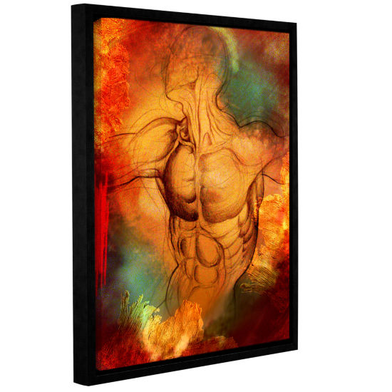 Brushstone Birthright IV Gallery Wrapped Floater-Framed Canvas Wall Art