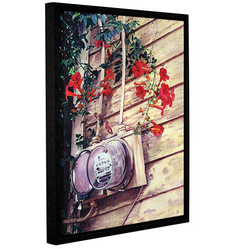 Brushstone Beautiful Utility Gallery Wrapped Floater-Framed Canvas Wall Art