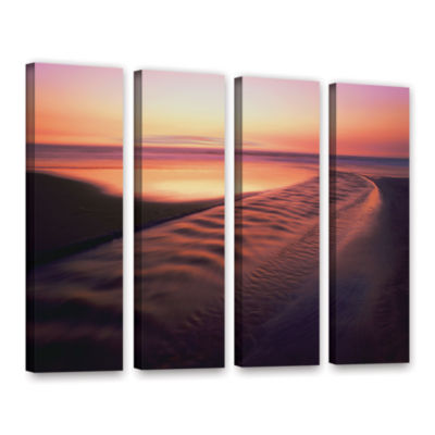 Brushstone Back to the Sea 4-pc. Gallery Wrapped Canvas Wall Art - Vista